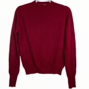 Vintage The Scotch House Cashmere Sweater Red